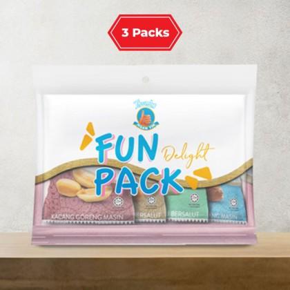4 x 40g (3 Packs) THUMBS Mix Fun Pack